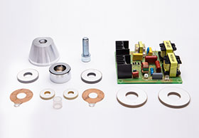 Ultrasonic cleaner parts