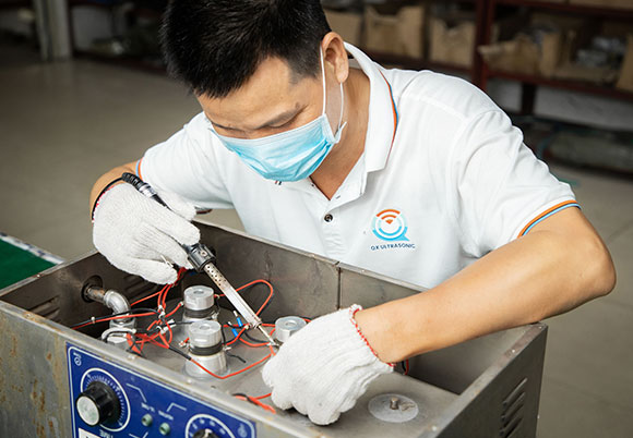 Ultrasonic cleaner maintenance